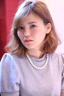 リラックスボブ☆オフホワイトベージュ☆|Hip's deco 大宮店のヘアスタイル
