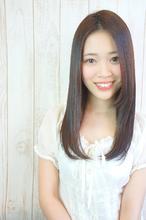 髪質改善ストレート|Hip's deco 大宮店 赤木 成行のヘアスタイル