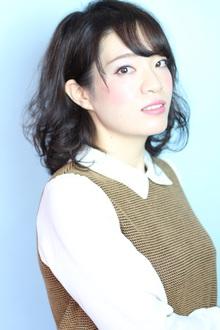 ゆるふわボブディ☆暗めバイオレットアッシュ☆|Hip's deco 大宮店のヘアスタイル