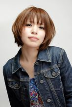 シンプルボブ☆カッパ—ブラウン☆|Hip's deco 大宮店のヘアスタイル