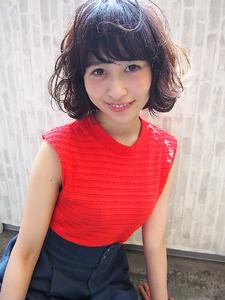 ふわふわミックスのガーリーボブ☆|Hip's deco 大宮店のヘアスタイル