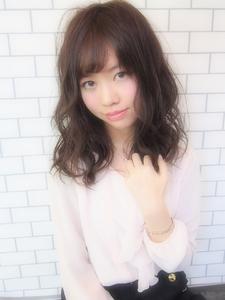 王道モテ可愛い愛されミディアム☆|Hip's deco 大宮店のヘアスタイル