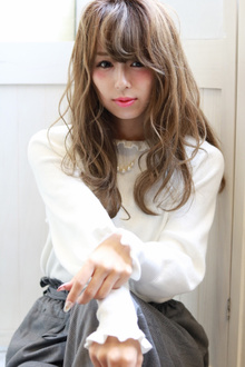甘めカジュアル☆小顔Style|Hip's deco 大宮店のヘアスタイル