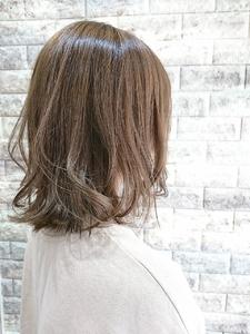 たっぷり3Dカラー×ミディ|Hip's deco 大宮店のヘアスタイル
