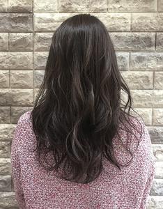 【バイオレットアッシュ×ベールハイライト|Hip's deco 大宮店のヘアスタイル