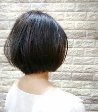 奥行きショートボブ Hip's deco 大宮店 平井 惇司のヘアスタイル