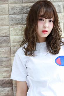 大人可愛い☆ラフなニュアンスミディ|Hip's deco 大宮店のヘアスタイル