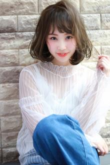 20代、30代に人気ナチュラルボブ☆|Hip's deco 大宮店のヘアスタイル