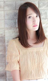 ツヤ髪×ナチュラル