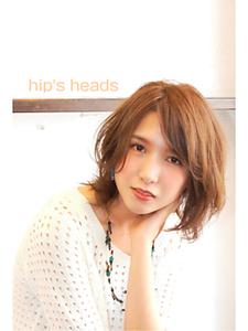 リラクシーレイヤー Hip's heads 宮原店のヘアスタイル