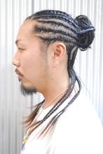 コーンロウSTYLE(1)|Hip's heads 宮原店のメンズヘアスタイル
