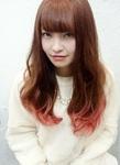 ピンクグラデーション|Hip's heads 宮原店のヘアスタイル