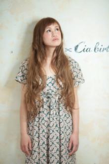 ☆短めバングのロングスタイル☆|Cia birthのヘアスタイル