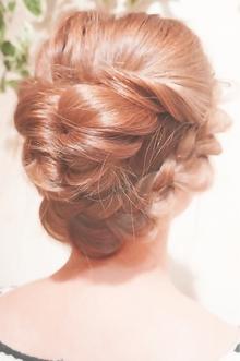 海外セレブ風アップ☆|Cia birthのヘアスタイル