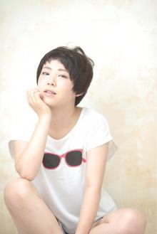 抜け感あるベリーショート☆|Cia birthのヘアスタイル