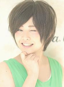 スタイリング楽ちん!小顔ショート☆|Cia birthのヘアスタイル