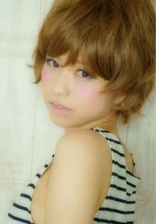 外は根が可愛い丸みショート☆|Cia birthのヘアスタイル