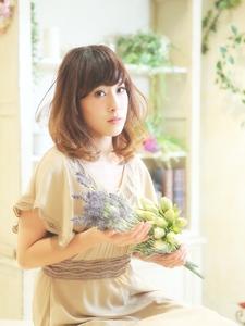 愛されセミロング☆|Cia birthのヘアスタイル