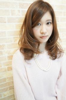 ナチュラルセミディ☆|Cia birthのヘアスタイル
