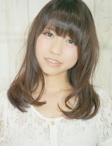 外国人風セミディワンカール☆|Cia birthのヘアスタイル