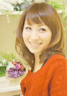 大人可愛いふわふわセミロング☆|Cia birthのヘアスタイル