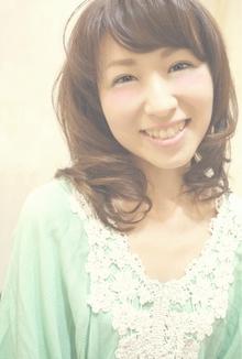 大人可愛いミディアム☆|Cia birthのヘアスタイル