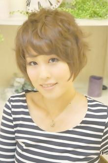大人かわいい小顔ショート☆ Cia birthのヘアスタイル