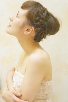 ブライダルヘアセット★人気NO1セット★|Cia birthのヘアスタイル