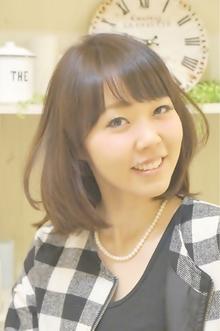 大人可愛くオシャレで黒髪でも似合うボブ☆|Cia birthのヘアスタイル