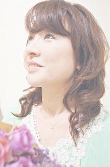 ふんわり可愛いSWEETゆるふわカール☆ Cia birthのヘアスタイル