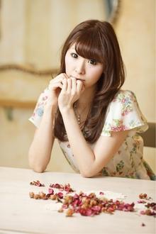 つやめきカラーとふわゆれカール☆|Cia birthのヘアスタイル