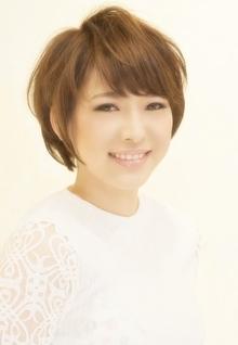 大人可愛いショート☆ Cia birthのヘアスタイル