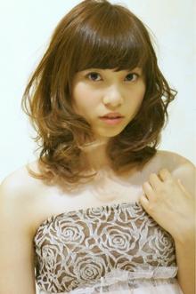 大人可愛いラフカールセミディ☆ Cia birthのヘアスタイル