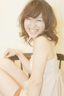 ☆無造作カール感がかわいいルーズボブレイヤー☆|Cia birthのヘアスタイル