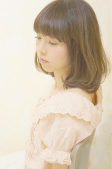 ☆ふんわり揺れるワンレンボブ☆|Cia birthのヘアスタイル