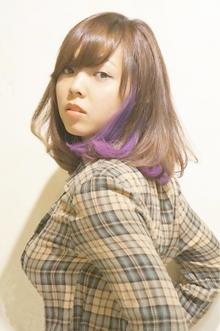 『ルーズ×耳かけ』外国人風〜ピンクアッシュ〜|Cia birthのヘアスタイル