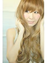 ゆる巻きロング☆ドール風ミルキープラチナベージュ☆|Cia birthのヘアスタイル