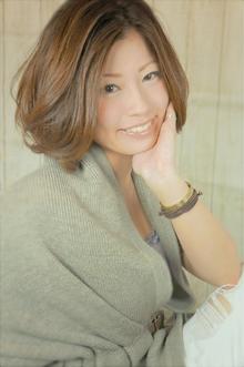 大人かわいい弾むエアリーカール☆ミルキーホイップ☆|Cia birthのヘアスタイル