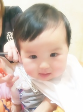 キッズ☆頑張ってチョキチョキできるかな?|Cia birthのキッズヘアスタイル