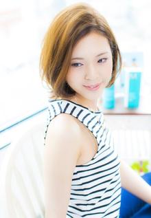 《2014夏スタイル》マリン・ボブ|Carat hair makesのヘアスタイル