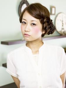 ☆編み込みミックス☆|Carat hair makesのヘアスタイル