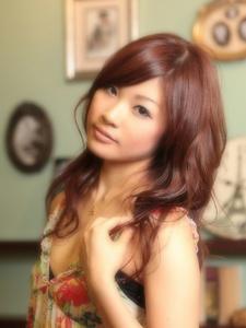 バイオレットブラウンでツヤカラースタイル☆|Carat hair makesのヘアスタイル