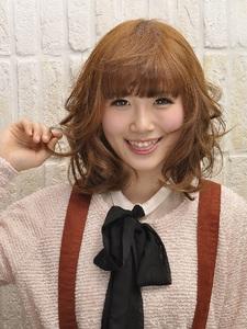 ゆるふわミディアム☆ Carat hair makesのヘアスタイル