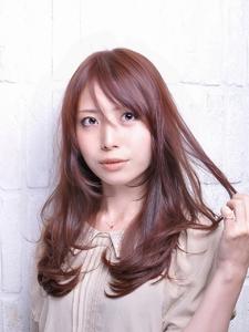 チョコっとツヤ・レッドブラウン★|Carat hair makesのヘアスタイル