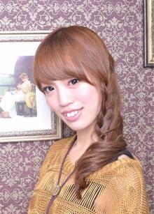 ほの甘 三編みアレンジ|Carat hair makesのヘアスタイル