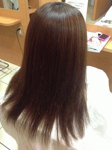 縮毛矯正 fine care makeのヘアスタイル