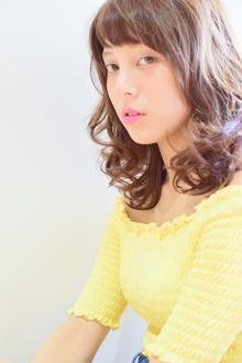 大人可愛い☆想いでウェーブ|Canna hair maisonのヘアスタイル