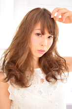 大人可愛い☆ヌーディーウェーブ|Canna hair maisonのヘアスタイル