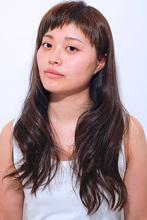 人気上昇中!ざく切りラウンドバング RICCA HAIR DESIGN リッカヘアデザインのヘアスタイル
