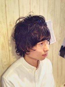 くせ毛風ニュアンスパーマ|NEXT hair 前橋店のヘアスタイル